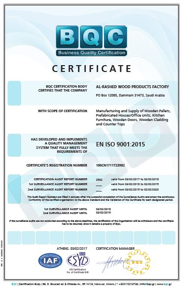 Quality Assurance & Quality Control – AlRashed Wood